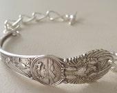 Kansas Sterling Silver Souvenir Spoon Bracelet