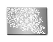 Original Design, White Vinyl Laptop Sticker Decal