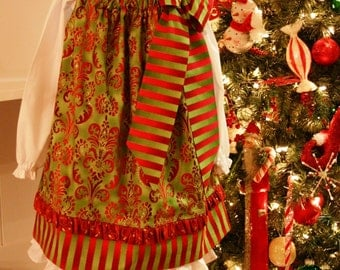 Christmas Dress Pattern - Pillowcase Dress Pattern, Pillowcase Dress, Pillow Case Dress Pattern, PDF Dress Pattern,