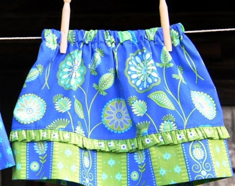 Skirt Pattern , Toddler Girl Skirt Pattern, Easy PDF Sewing Patterns, PDF Skirt Pattern, Easy Sewing Pattern, Sew Sassy Clothing