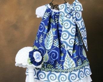 Sew Stylish  Pillowcase Dress PDF Sewing Pattern W/Detachable Bow 6 Mos. - 14 Children Clothing