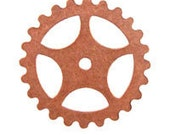 Trinity Brass 16mm Gear- copper finish (3 pc)