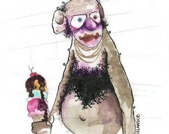 molester monkey