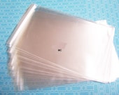 48 5 11/16 x 5 9/16 Clear Resealable Envelopes Bags For SQUARE Card And Envelopes