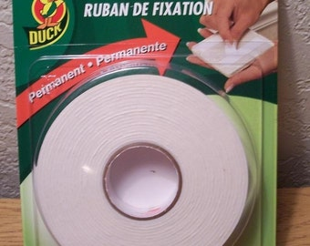 Henkel Duck Permanent Mounting Tape - Free USA Shipping
