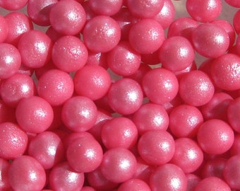 Fondant pearls (6mm) 500 ORCHID PINK