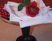 60 Reusable Napkin UNpaper towel alternative to paper products BirdsEye cotton