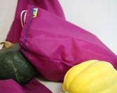 1 XL Drawsting Bulk bag Nylon Reusable shopping bag