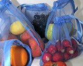10 pack MINI bag special reusable produce fruit or veggie bag