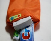 Toothbrush and Toothpaste zip carry bag