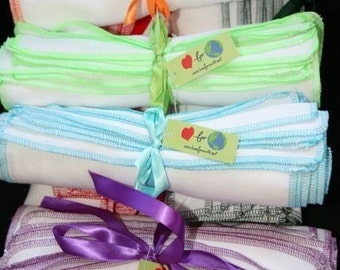 In color Everyday Napkins 24 pack Choose your trim Eco friendly alternative to paper