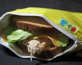 Reusable insulated sandwich Bag- ZIPPIT eco friendly