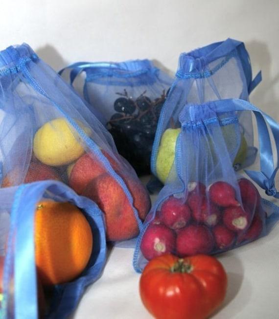 10 pack MINI bag special reusable produce fruit or veggie bag