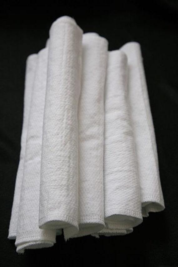 2 ply thick napkins 12 reusable eco friendly absorbent cloth towels Unpaper