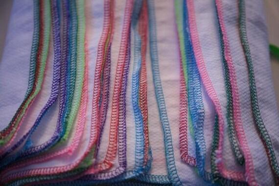 Reusable Napkins Unpaper towels 38 MultiColor trimmed