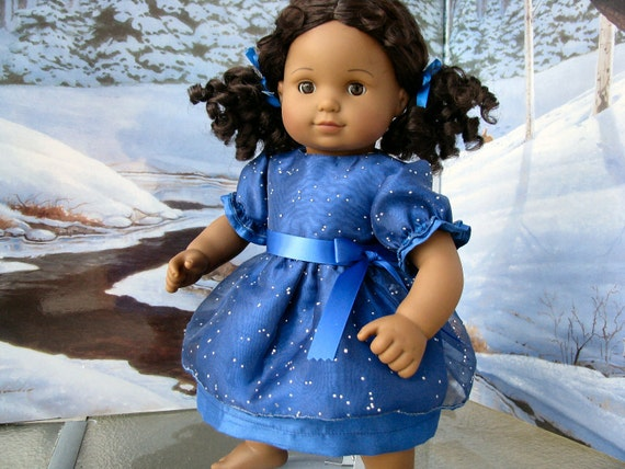 Custom Order for Kethia Two Party Dresses for Bitty Baby Twin Doll