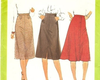 Circa 1977 Simplicity 8241 Misses set of Skirts