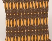 RETRO BEADS- 16 X 16 Pillow Cover