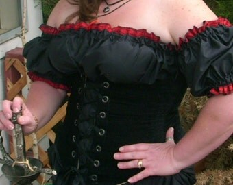 Black Pearl Pirate Wench Chemise