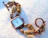 Ceramic Copper Watch - W032