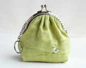 little Bird purse (Metal Frame)