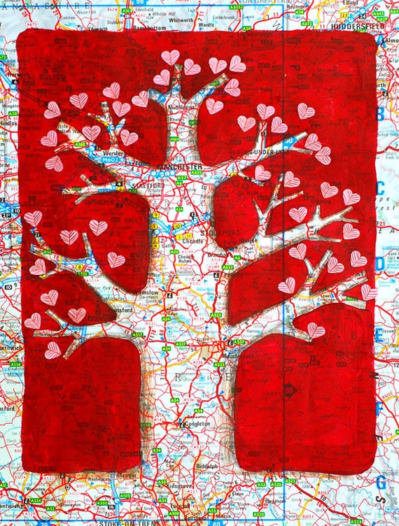 Tree of Love original painting