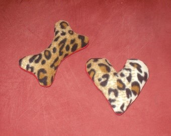 Valentine Special DOUBLE THE FUN 2-pack - Squeaker toys - Heart and Bone
