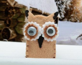 Owl Finger Puppet