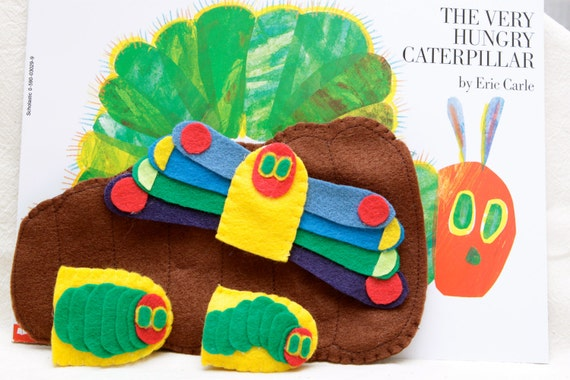 The Very Hungry Caterpillar - Finger puppet set