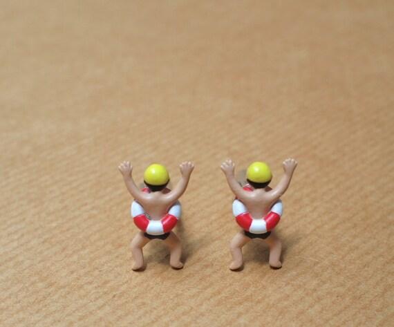 Swimmer Cufflinks
