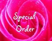 Customer Special Order