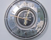 Sale: Ford Mustang Hubcap Clock with numbering (h1211 hub cap)