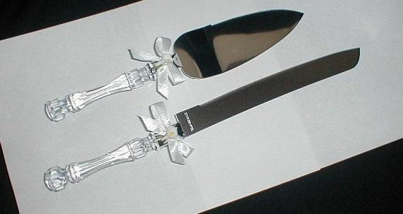 Calla Lily Cake and Knife Set -Wedding/Anniversary/Bridal Shower