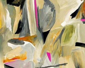 "Notch - Acrylic on canvas, 30 x 30 x 1.5"""