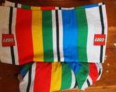 Lego bedding. Twin flat and fitted sheets.