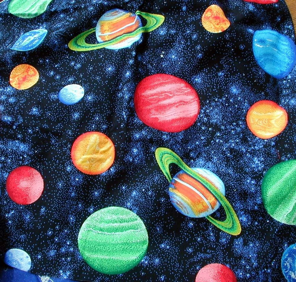 2 quilt fabrics galaxy fabric 44 in x 48 in by pendragonfarm for Galaxy material fabric