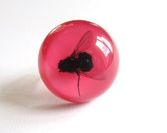 Stretching Fly - Resin ring - Size M