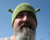 Ogre Hat - handmade in Spring Pea