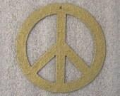 Peace Sign Symbol Christmas Ornament