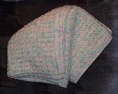 Baby Print Crochet Afghan