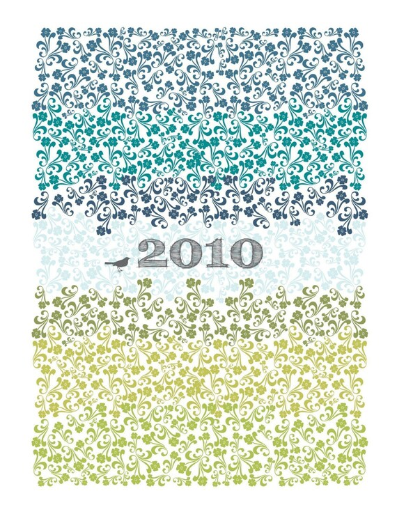 2010 Printable wall calendar - 8.5 x 11