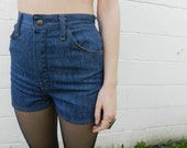 70s // Vintage Highwaisted Denim Shorts