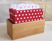 Wedding Guest Book Box and Sign - Polka-Dot