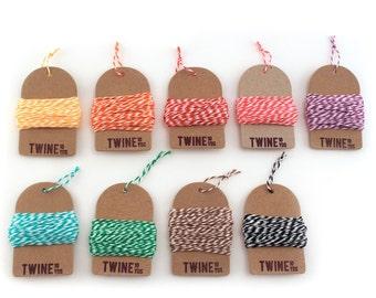 Bakers Twine (Choose 6 Colors)