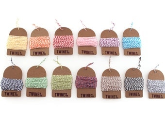 Bakers Twine (Choose 3 Colors)