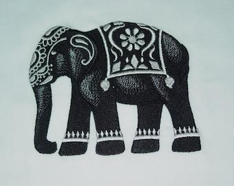 African Safari (6) Machine Embroidered Quilt Blocks