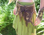 Tribal, Faerie, Pixie, Belly dancing, festival Belt, Forrest