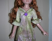 Dress and Stockings for Ellowyne, Prudence, Amber, 16 inch BJDs
