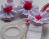 Schnullerbandset - Think pink -