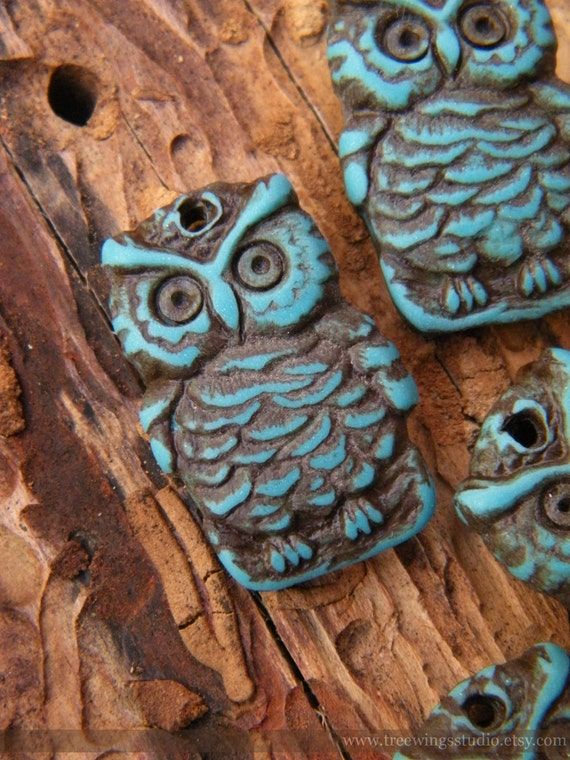 PRE-ORDER Owl on a Branch charm